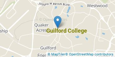 Location of Guilford College