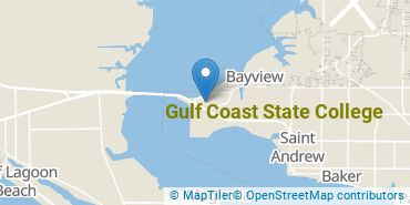 Location of Gulf Coast State College