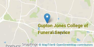 Location of Gupton Jones College of Funeral Service