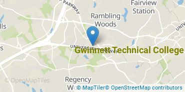 Location of Gwinnett Technical College