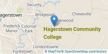 Location of Hagerstown Community College