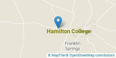Location of Hamilton College
