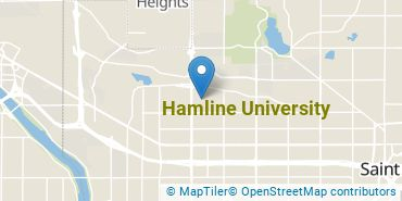 Location of Hamline University