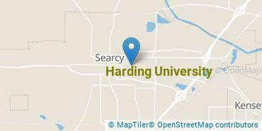 Location of Harding University