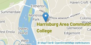 Location of Harrisburg Area Community College