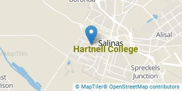Location of Hartnell College