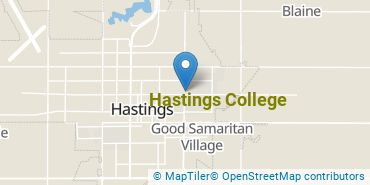 Location of Hastings College