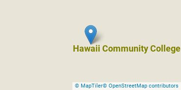 Location of Hawaii Community College