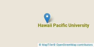 Location of Hawaii Pacific University