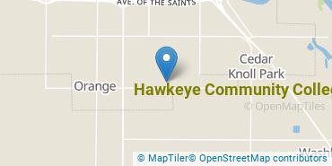 Location of Hawkeye Community College