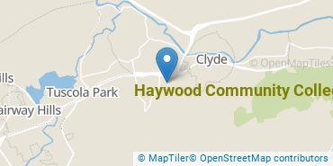 Location of Haywood Community College