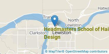 Location of Headmasters School of Hair Design