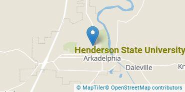 Location of Henderson State University