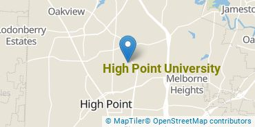 Location of High Point University