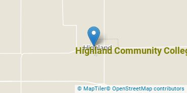 Location of Highland Community College