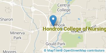Location of Hondros College of Nursing