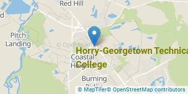 Location of Horry-Georgetown Technical College