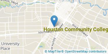Location of Houston Community College