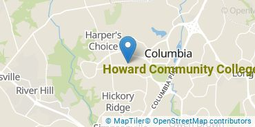 Location of Howard Community College