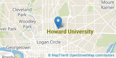 Location of Howard University