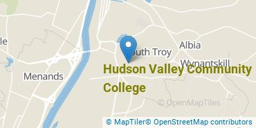 Location of Hudson Valley Community College