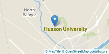 Location of Husson University