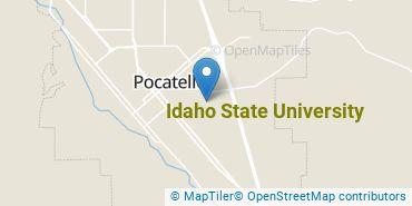 Location of Idaho State University