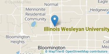 Location of Illinois Wesleyan University