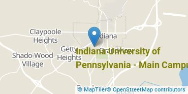 Location of Indiana University of Pennsylvania - Main Campus