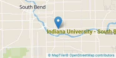 Location of Indiana University - South Bend
