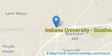 Location of Indiana University - Southeast