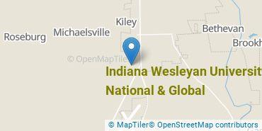 Location of Indiana Wesleyan University-National & Global