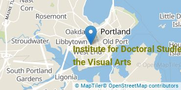 Location of Institute for Doctoral Studies in the Visual Arts