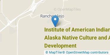 Location of Institute of American Indian and Alaska Native Culture and Arts Development