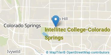 Location of Intellitec College-Colorado Springs
