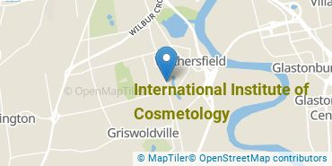 Location of International Institute of Cosmetology