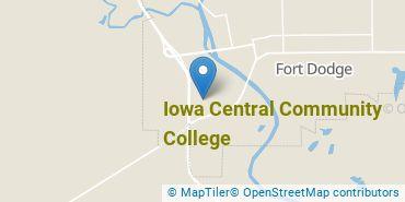 Location of Iowa Central Community College