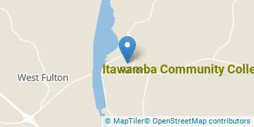 Location of Itawamba Community College