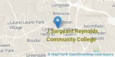 Location of Reynolds Community College