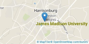 Location of James Madison University