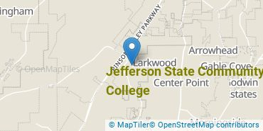 Location of Jefferson State Community College