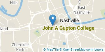 Location of John A Gupton College