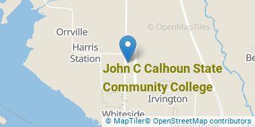 Location of John C Calhoun State Community College