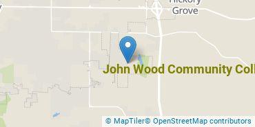 Location of John Wood Community College