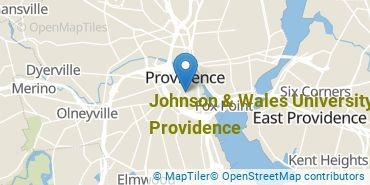 Location of Johnson & Wales University - Providence