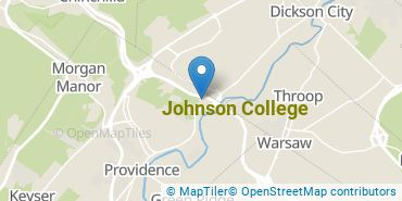 Location of Johnson College