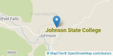 Location of Johnson State College