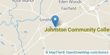 Location of Johnston Community College