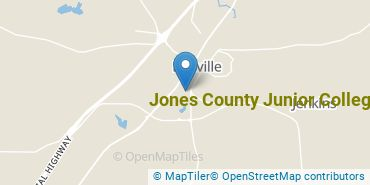 Location of Jones County Junior College