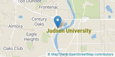Location of Judson University